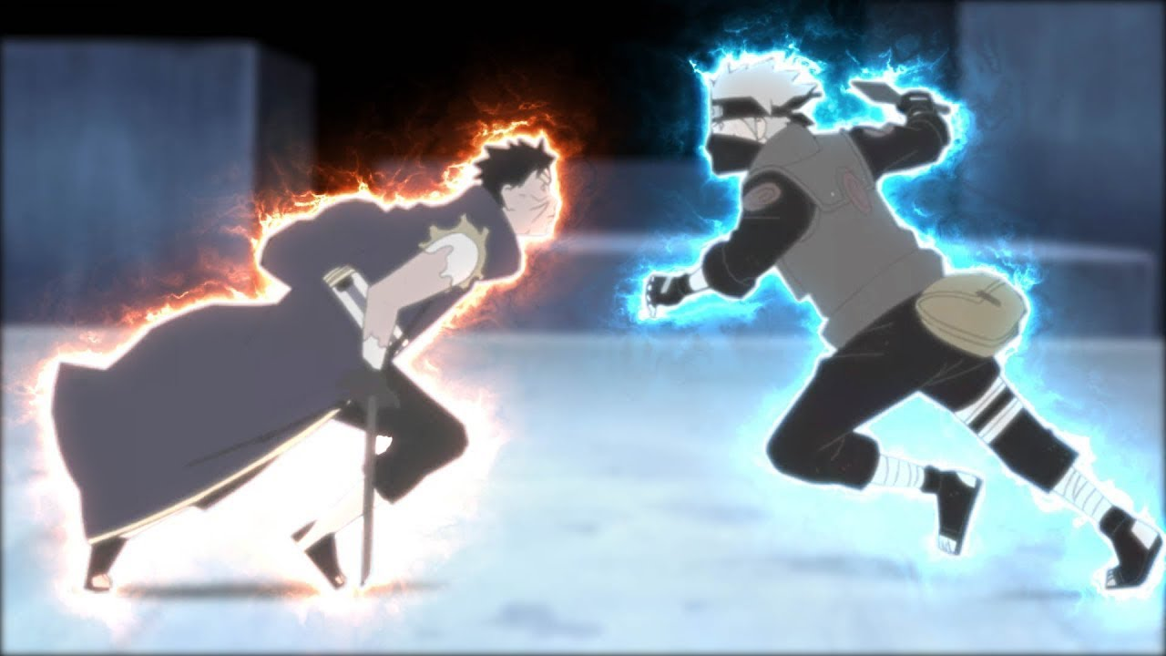 Kakashi Vs Obito Final Fight Youtube