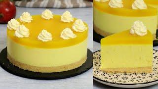 ВКУСНЕЕ НЕ БЫВАЕТ! ☆ МАНГОВЫЙ ЧИЗКЕЙК БЕЗ ВЫПЕЧКИ ☆ No-Bake Mango Cheesecake Recipe ☆ Марьяна