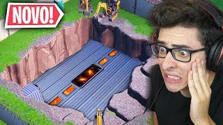THE SECRET BUNKER WAS FOUND AT THE FORTNITE!!
