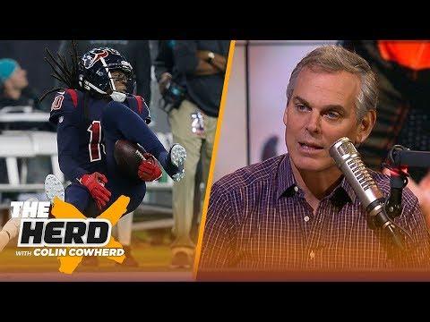 Colin Cowherd on DeAndre Hopkins' non-catch on TNF, Baker Mayfield's struggles | NFL | THE HERD