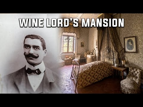 Courtly Abandoned Mansion of an Italian Wine Lord - Unravelling Family Mysteries