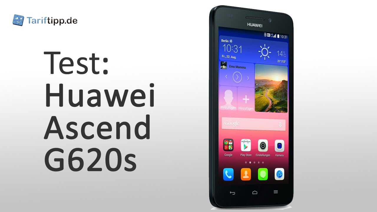 Huawei Ascend G620s | Test deutsch - YouTube