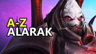 ♥ A - Z Alarak - Heroes of the Storm (HotS Gameplay)