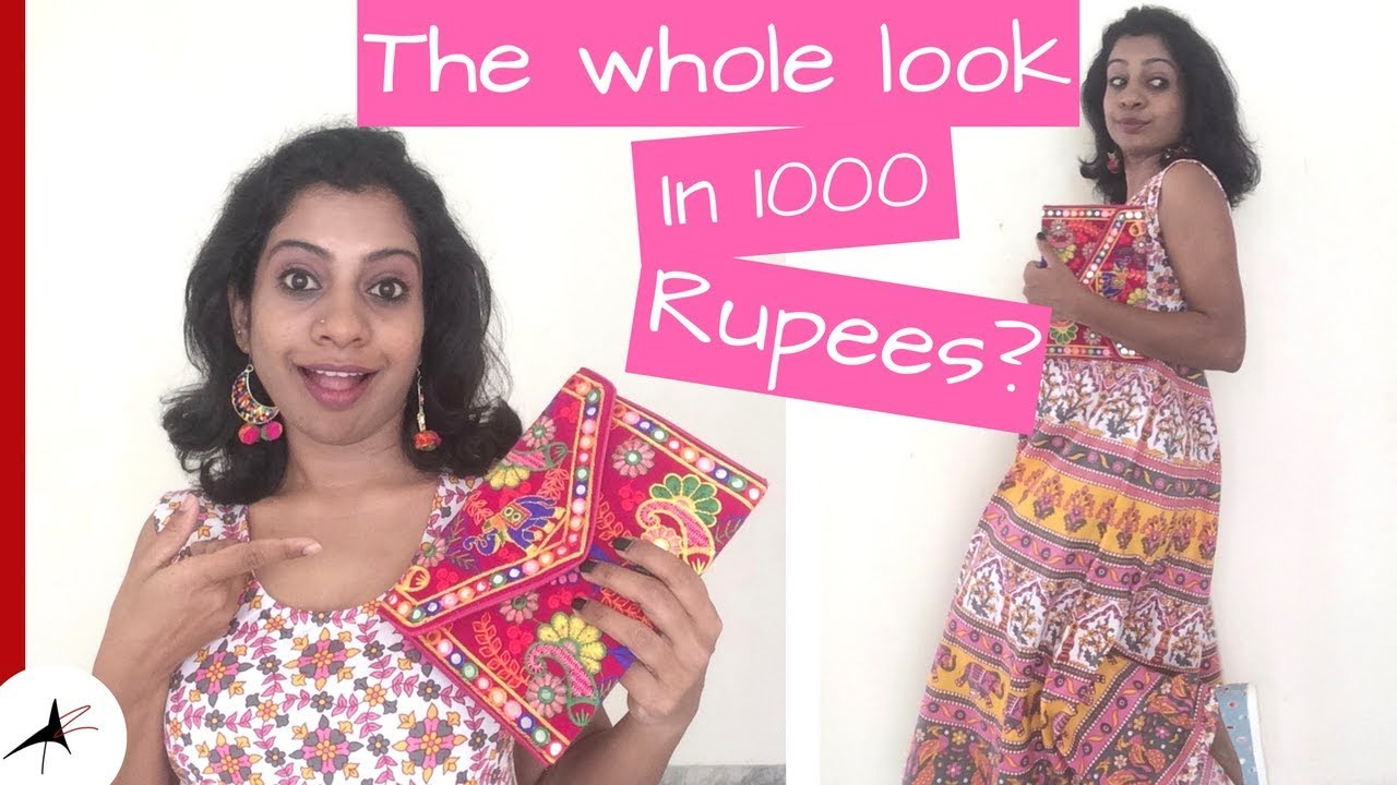 Jayanagar 4th Block 1000 Rupees Challenge | Style On Budget