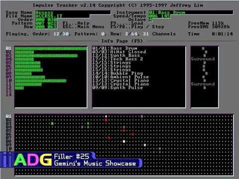 ADG Filler #25 - Gemini's Music Showcase