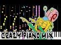 Crazy Piano Mix! -the Real- JELLY FISH JAM (SpongeBob SquarePants)