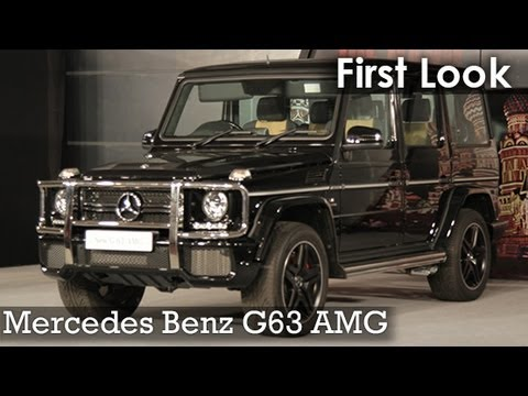 First look mercedes benz g63 amg launched in india youtube for Mercedes benz that looks like a jeep