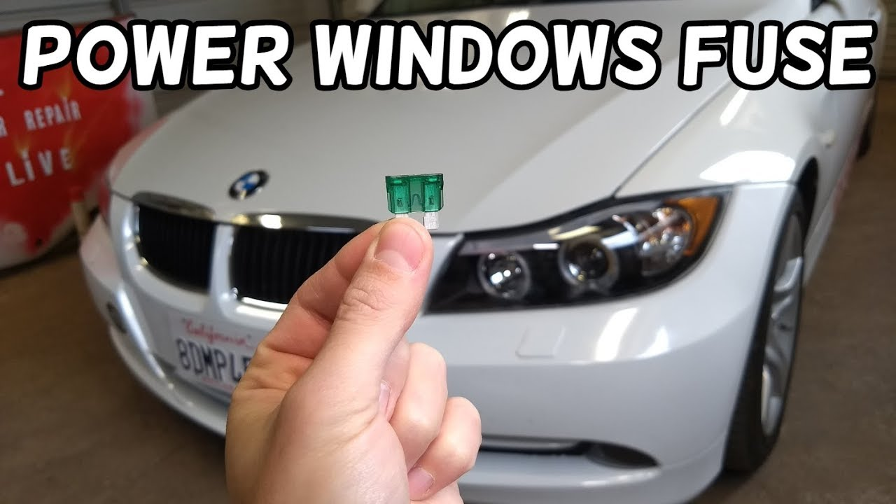 power windows fuse location bmw e90 e91 e92 e93 [ 1280 x 720 Pixel ]
