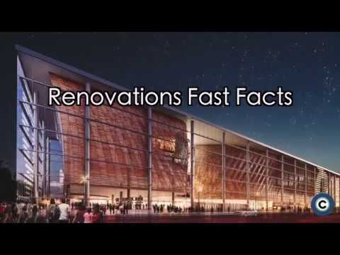 Renderings of the $140 million potential renovations to Quicken Loans Arena