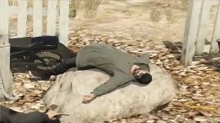 Обновление про байкеров. Смешные моменты GTA 5.