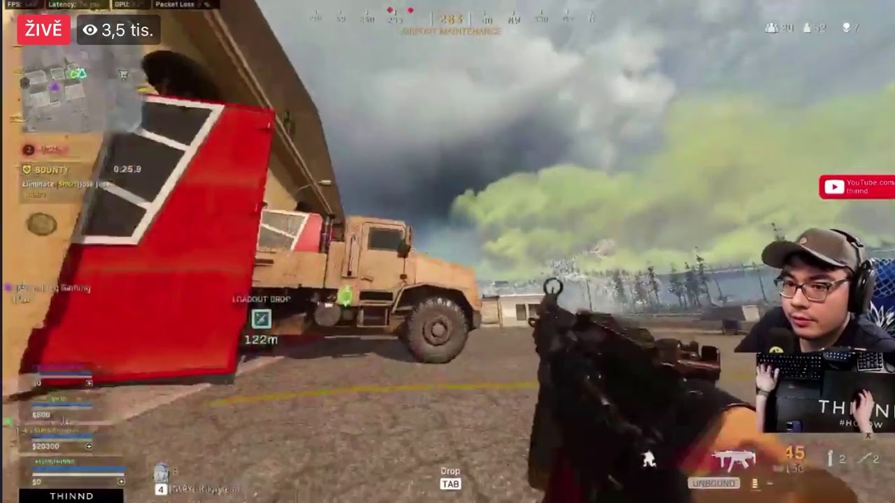 Download THINND 43 Kill Warzone win!PC Squad Live on Facebook - Season  6  Warzone live stream FULL GAME!