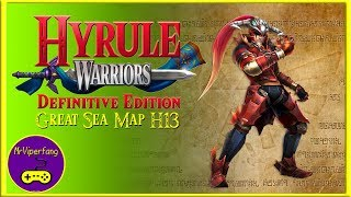 Hyrule Warriors (Switch): Great Sea Map H13 -