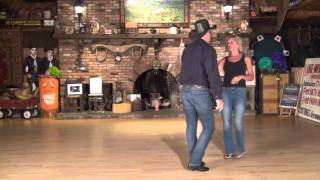 Traveling Swing Partner Dance Demo