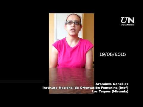 Araminta González contó su calvario con Pérez Venta y Trejo