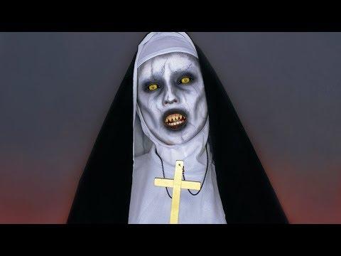 VALAK MAKEUP TUTORIAL   ПРОКЛЯТИЕ МОНАХИНИ МАКИЯЖ НА ХЭЛЛОУИН   THE NUN