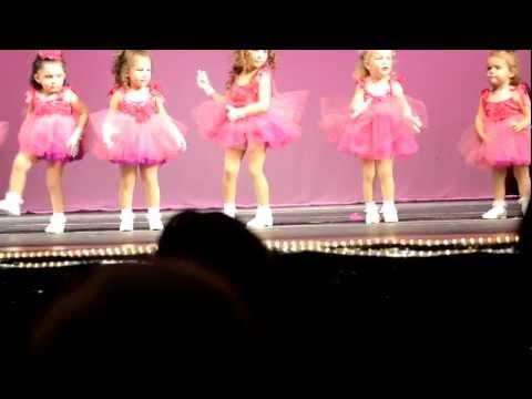 Funny and cute dance recital