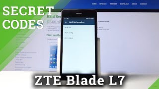 Secret Codes for ZTE Blade L7 – Hidden Features