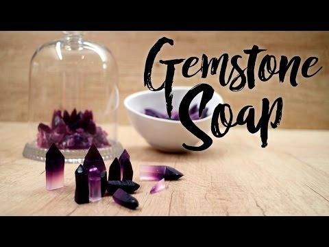 GEMSTONE SOAP D.I.Y.  ❤ mimi