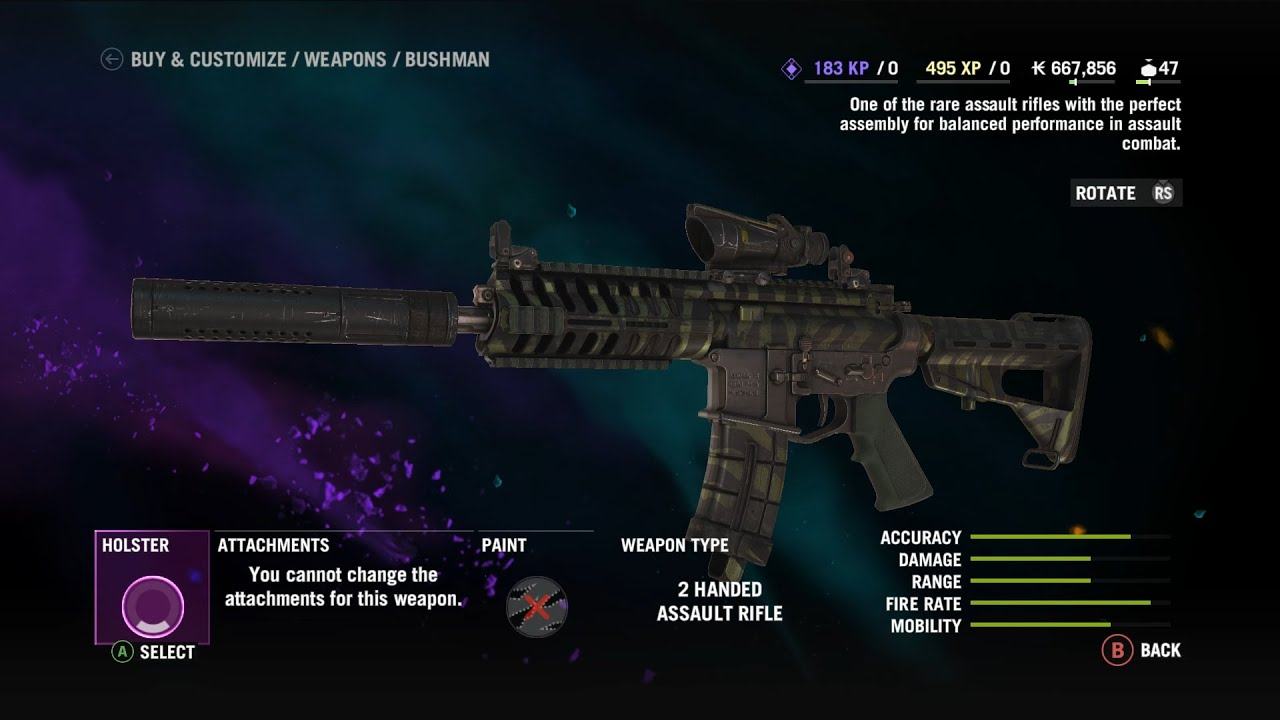 Far Cry 4 Outpost With Bushman Level 10 Arena Weapon