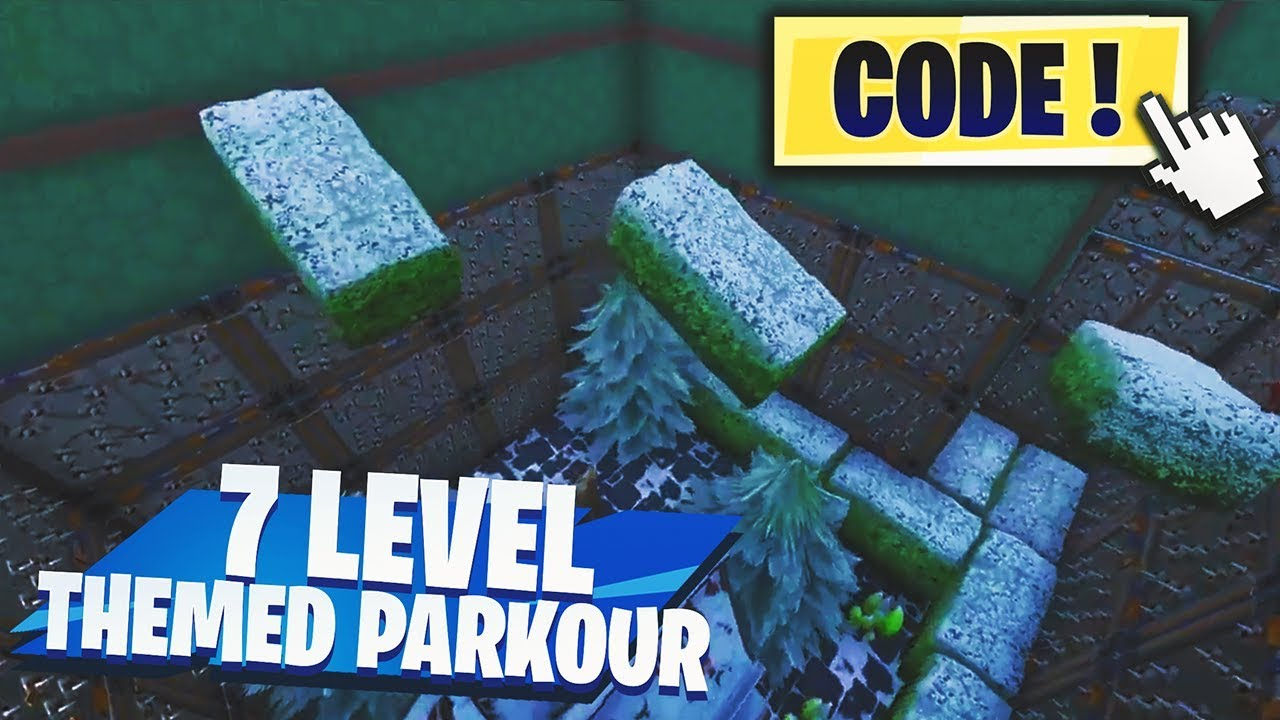 codes for fortnite creative parkour