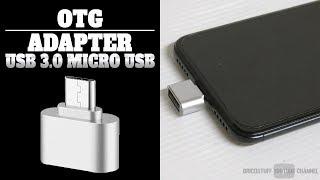 Adaptateur Smartphone OTG USB 3.0/ Micro USB ⏩ Clé USB Souris Webcam