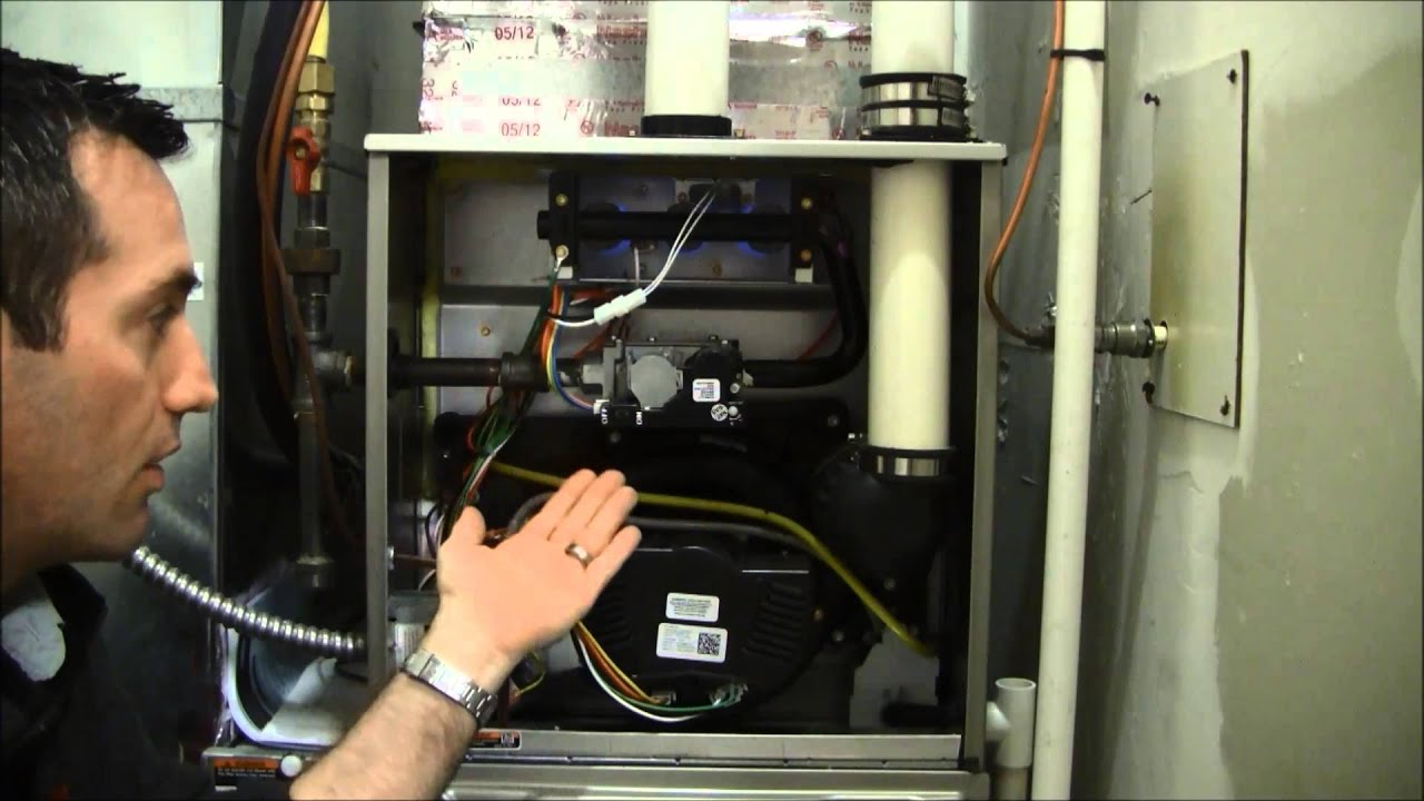 Limit Switch Carrier Heating On Furnace Youtube