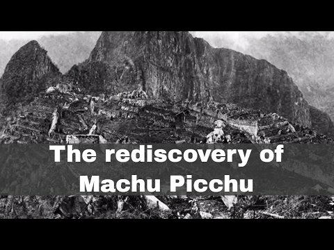 24th July 1911: Machu Picchu