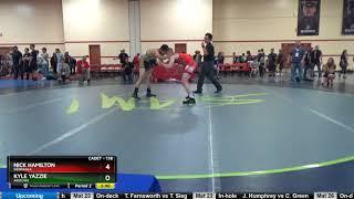Cadet 138 Nick Hamilton Nebraska Vs Kyle Yazzie Arizona