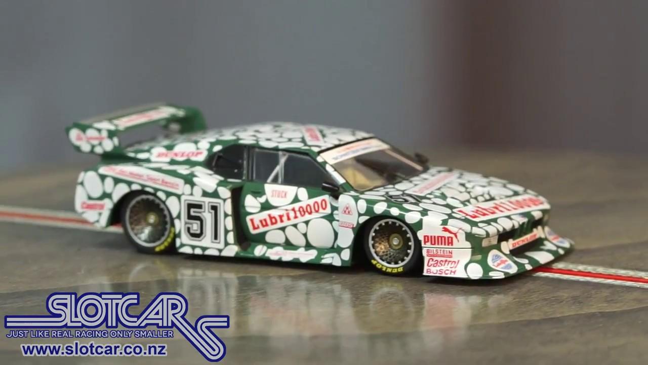 Sideways Slot Car Group 5 Bmw M1 51 Club Ltd Edition Green Slotcar