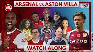 Arsenal vs Aston Villa | Watch Along Live