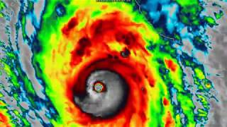 Hurricane Willa explosively intensifies - 6pm MDT Oct 21, 2018