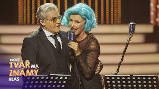 Kateřina Brožová & Ján Jackuliak jako Lady Gaga & Tony Bennett | Tvoje tvář má známý hlas