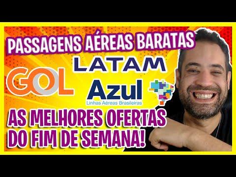 TÁ TUDO BARATO! GOL, AZUL E LATAM! AS MELHORES OFERTAS DO FINAL DO SEMANA!
