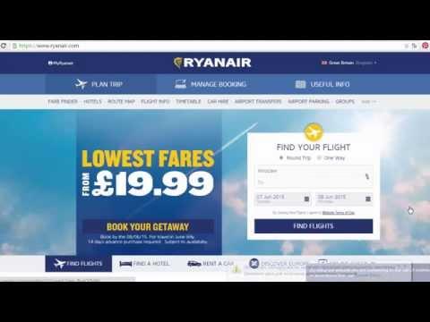 Ryanair: инструкция, как купить билет   Самостоятельно в Тоскану #1.1