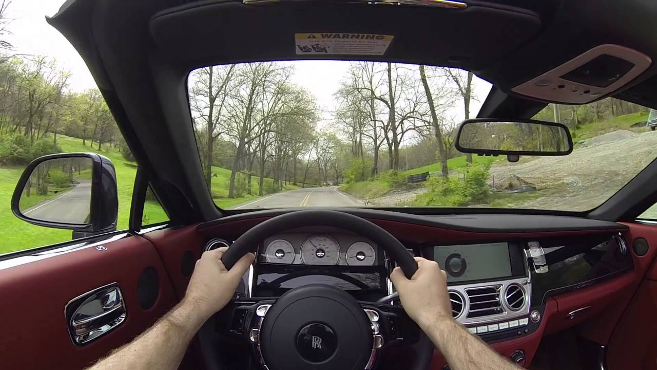 2016 Rolls Royce Dawn POV Test Drive