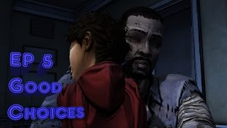 The Walking Dead Ep. 5 No Time Left - Good/Funny Choices Complete (PS4 1080p60fps)
