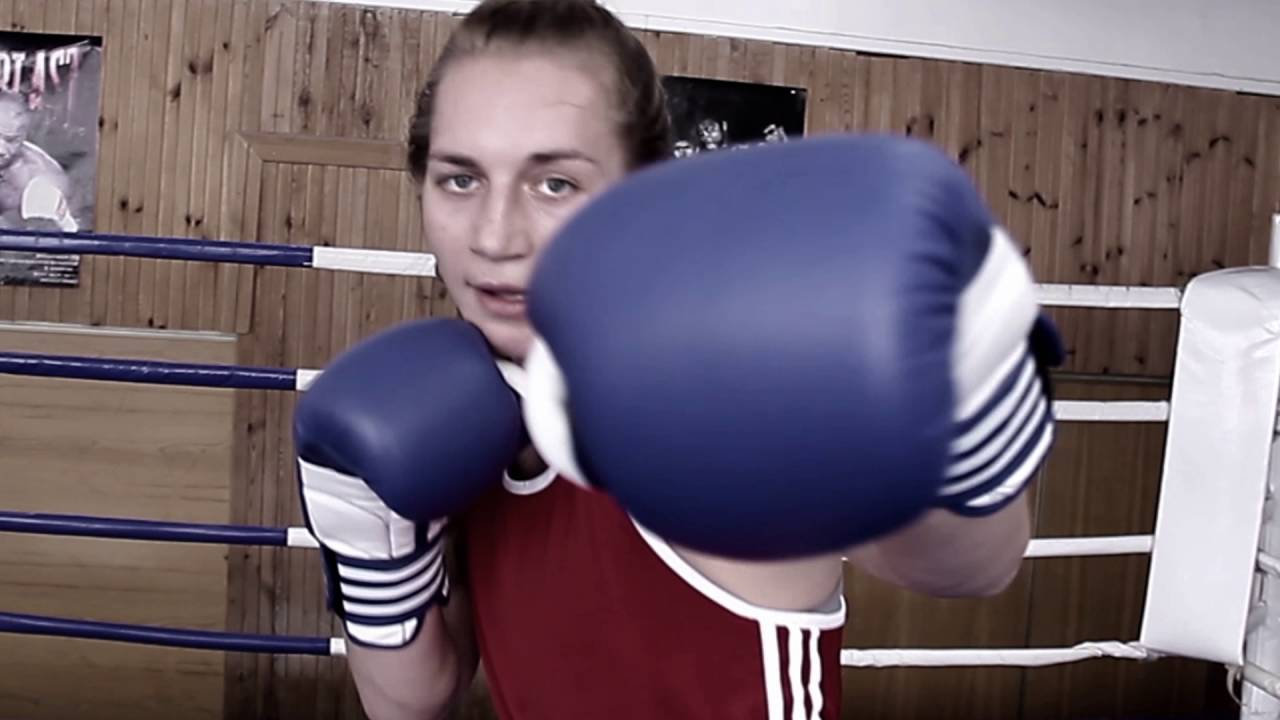 Нила Липская. Бокс. Сборная Украины. - YouTube