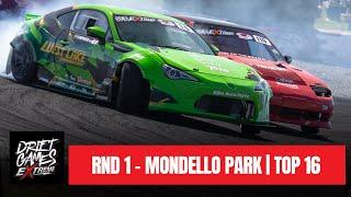 RND 1 - MONDELLO PARK | TOP 16