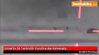 Şırnak'ta 34 Teröristin Vurulma Anı Kamerada2.mp4