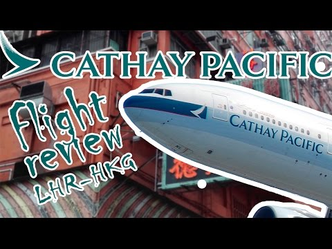 Cathay Pacific Economy Class Flight Review: London-Hong Kong
