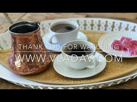 HOW TO MAKE TURKISH COFFEE / SERBIAN WAY