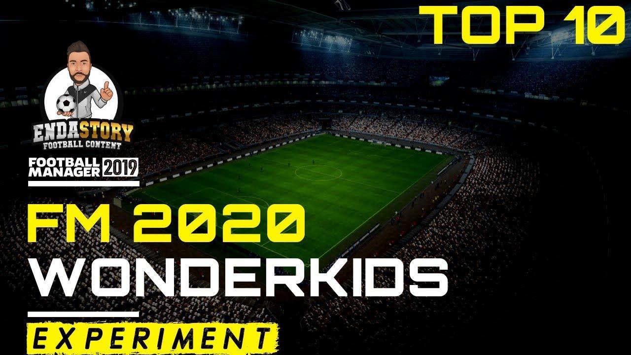 Football Manager 2020 - Top 10 Wonderkids (2019)