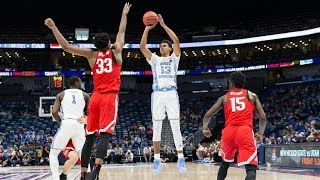 UNC Men's Basketball: Carolina Downs Ohio State in New Orleans, 86-72