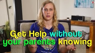 How to get support without parents being involved - Mental Health Help with Kati Morton