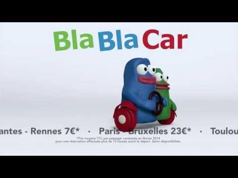 Pub BlaBlaCar à la TV