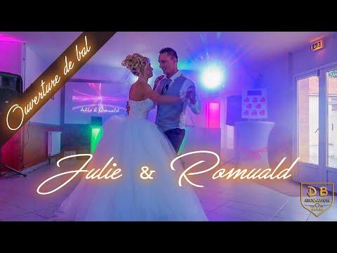 DB Animation : Superbe ouverture du bal de Julie & Romuald