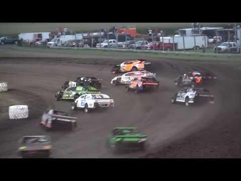 IMCA Sport Mod feature Benton County Speedway 8/6/17