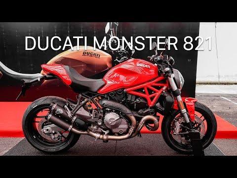 Ducati Monster 821 2018 giá 399 triệu có gì hấp dẫn?