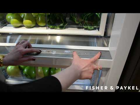 How To Start Sabbath Mode On Fisher & Paykel Column Refrigeration