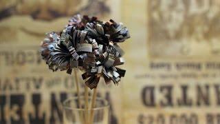 Цветы из бумаги своими руками. Бумажные цветы(Видео Цветы из бумаги покажет вам как сделать бумажные цветы своими руками. Это простой мастер класс для..., 2016-02-20T07:00:00.000Z)